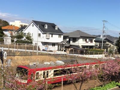 京急久里浜線三浦海岸三崎口駅間