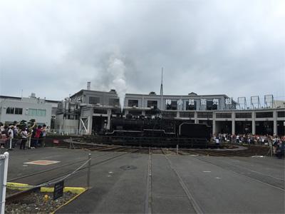 京都鉄道博物館SLスチーム号(2016/07/17)