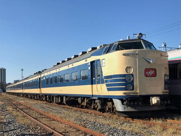 583系 ふれあい鉄道フェスティバル@尾久車両センター