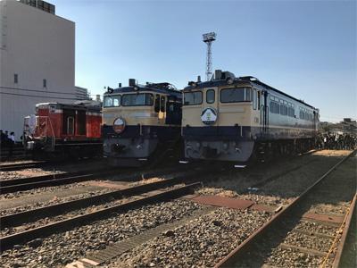 EF65 DD51 ふれあい鉄道フェスティバル@尾久車両センター