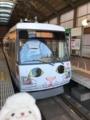 東急世田谷線300系308F(玉電110周年記念 幸福の招き猫電車)@三軒茶屋駅