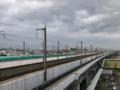 鉄道博物館から見た東北新幹線