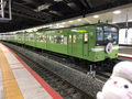 おおさか東線全線開業ラッピング列車@新大阪駅(2019/04/29)