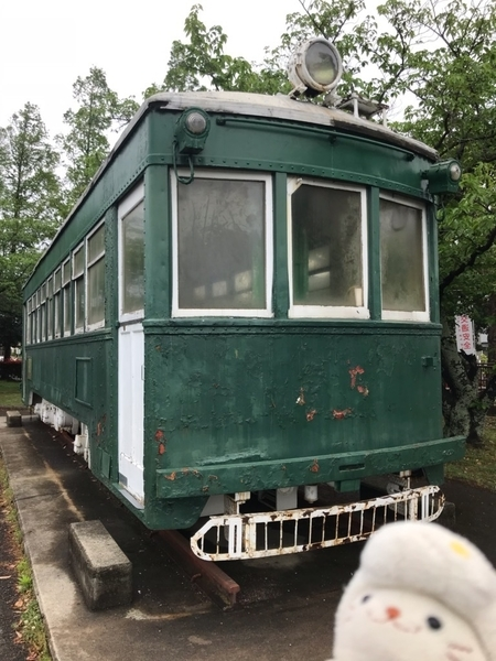 モ205形電車モ217@和歌山県立和歌山交通公園(2019/04/30)