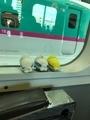 400系新幹線の車窓@鉄道博物館