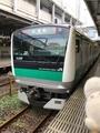 E233系7000番台試運転@品川駅