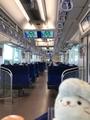 S-TRAIN車内