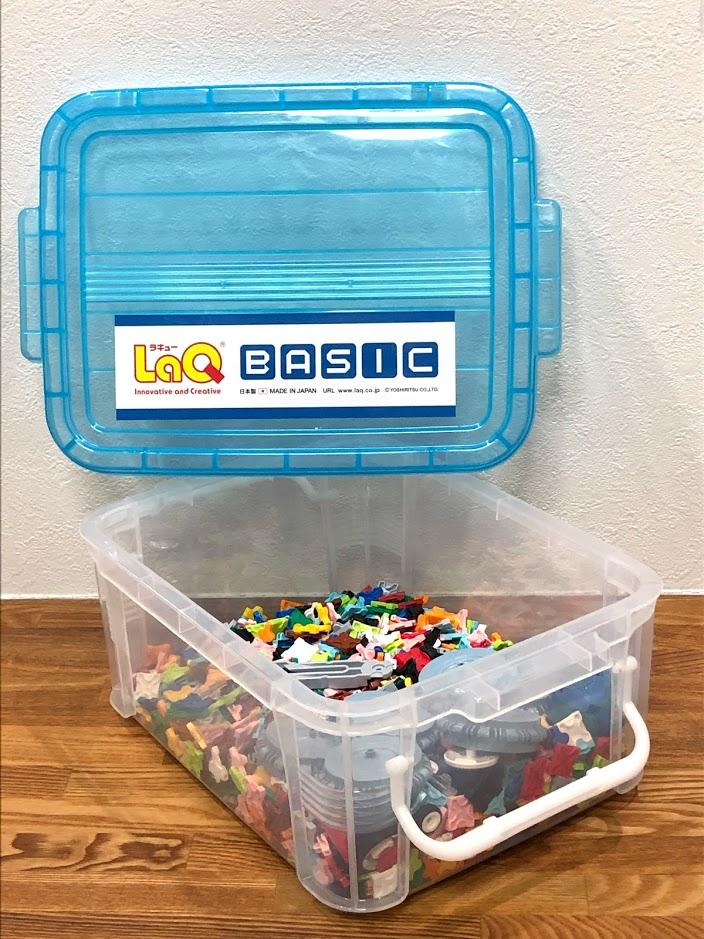 LaQベーシックセット801のケース