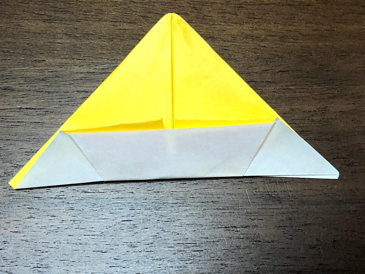 折り紙で作った「ソンブレロ」