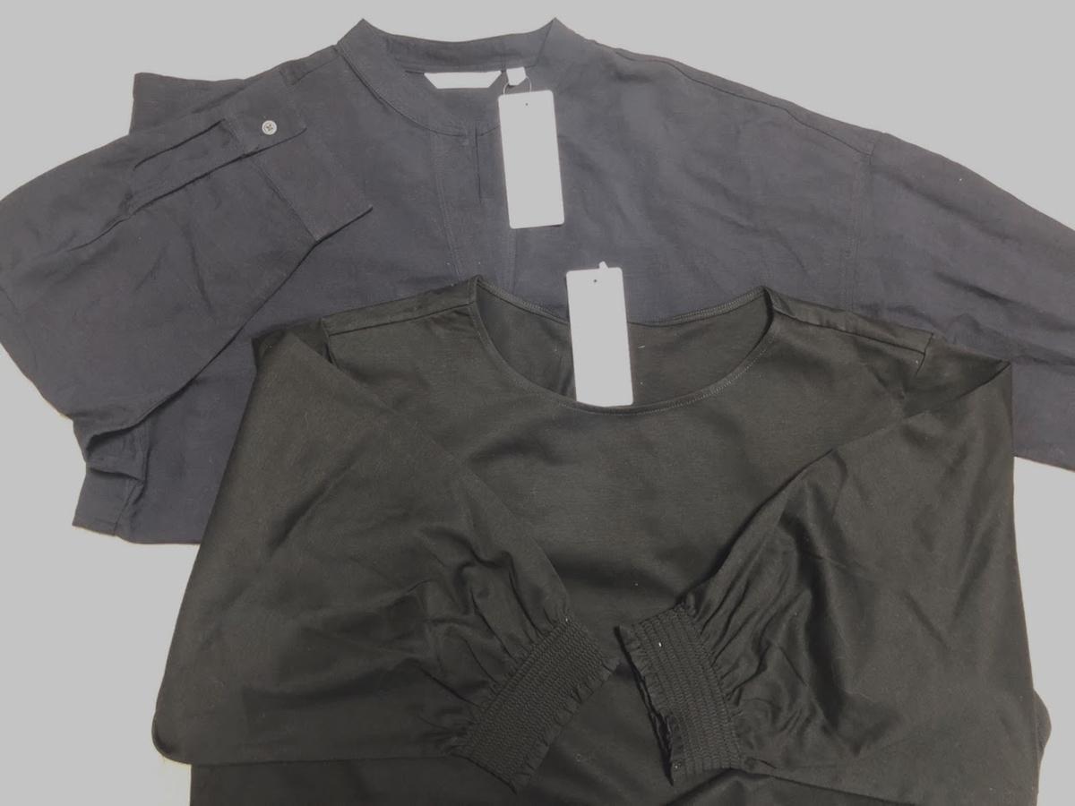 ユニクロでシャツを2枚購入