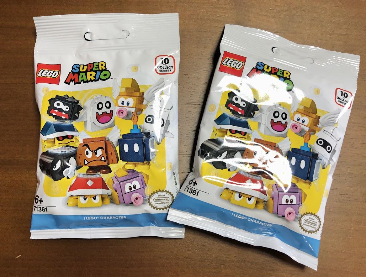 LEGO(レゴ)スーパーマリオ「キャラクターパック」を2つ購入!