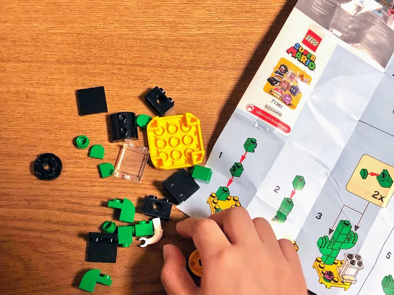 LEGO(レゴ)スーパーマリオ「キャラクターパック」キラー作成中