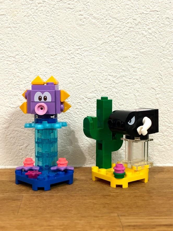 レゴ(LEGO)スーパーマリオ「キャラクターパック」ウニラ&キラー完成