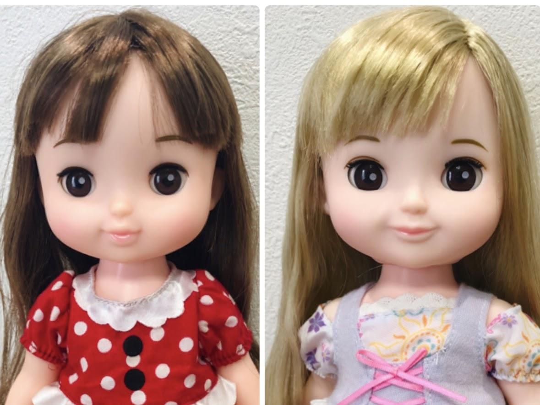 ソランちゃんとコルネちゃん比較・顔