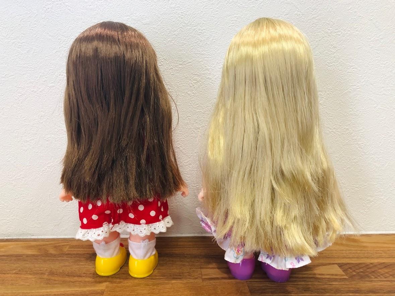 ソランちゃんとコルネちゃん比較・髪