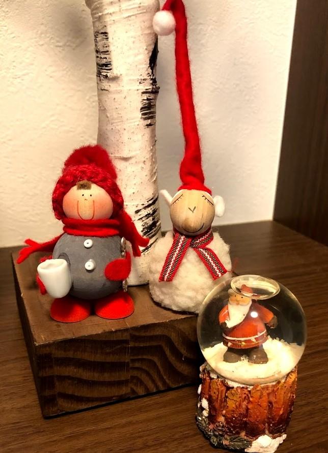 新婚旅行で購入したクリスマス人形