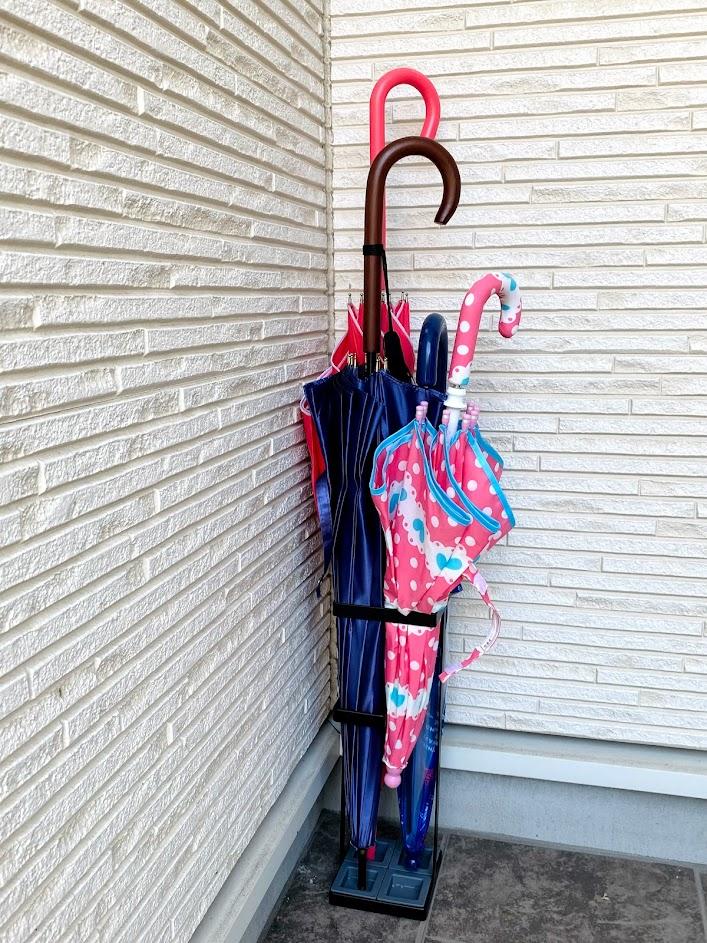 山崎実業『tower』アンブレラスタンドタワー・傘立てを購入!傘を開いたまま入れてみた