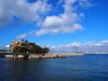 絵島と明石海峡大橋