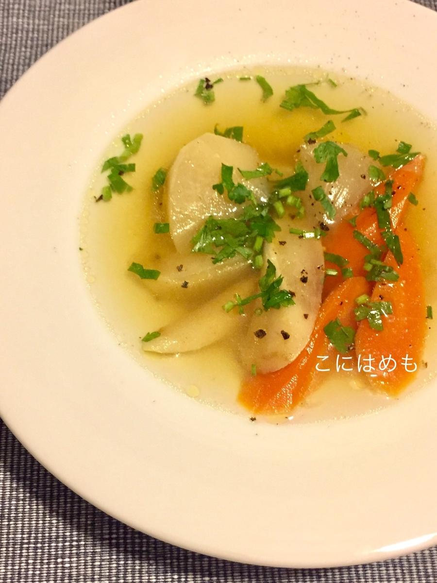 【ハンガリー料理】鴨のガラを使って作る「鴨のコンソメスープ」Libaleves:リバレヴェシュ。