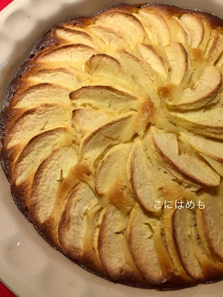 オーブンに入れて、160℃で約40分焼く。
