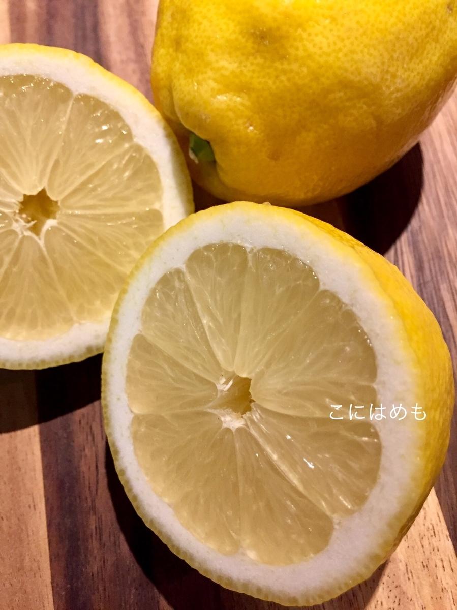 レモンとビタミンC。