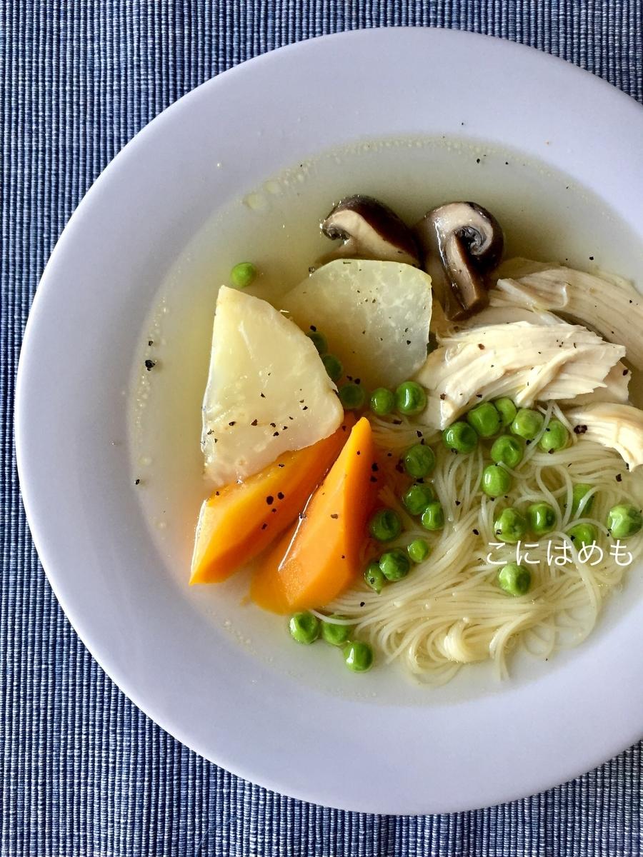 ヘルシーに簡単に作る!「鶏むね肉とお野菜たっぷりスープ」