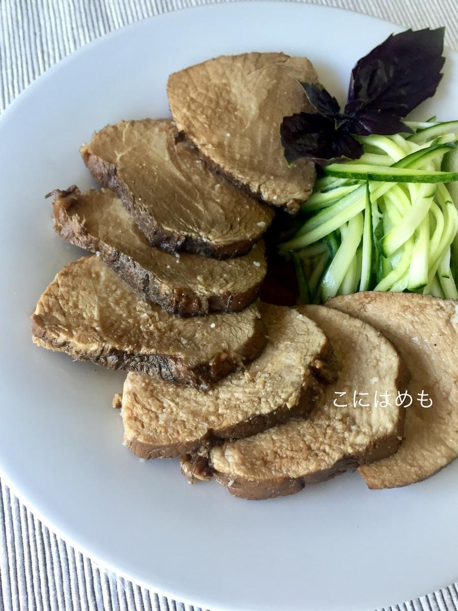 作り置きにも!豚のかたまり肉を使って作る「紅茶煮」