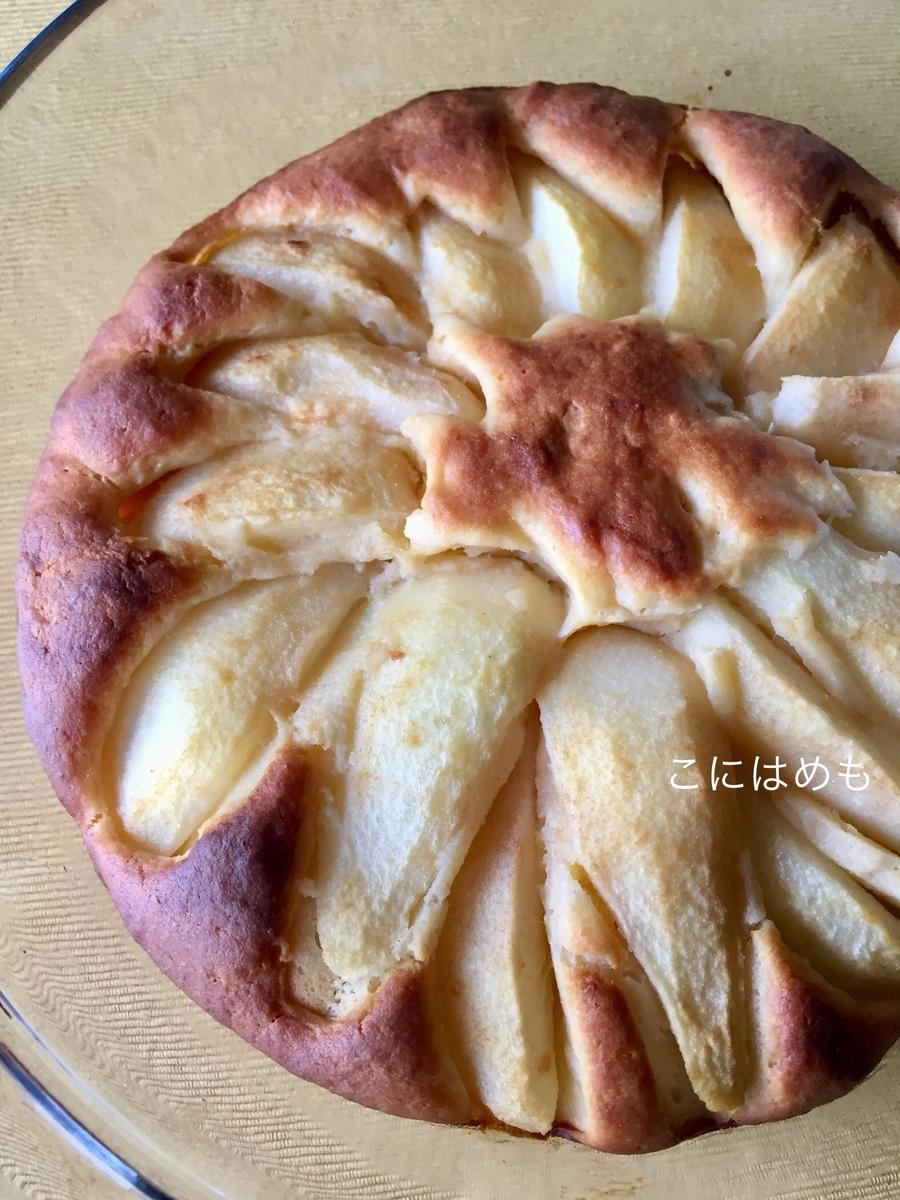 リコッタチーズと洋梨のケーキ「Torta Ricotta e Pere:トルタ リコッタ エ ペーレ」