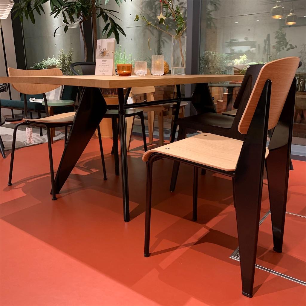 Vitraスタンダードチェア&テーブル