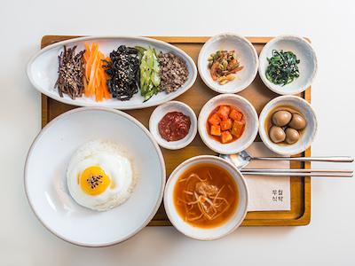 高麗アザミビビンバ おひとりさまご飯 韓国