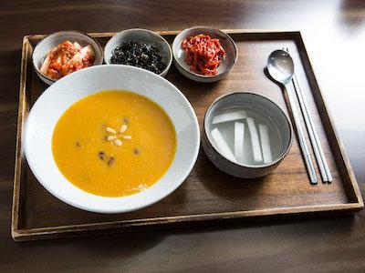 かぼちゃのおかゆ 韓国 定食