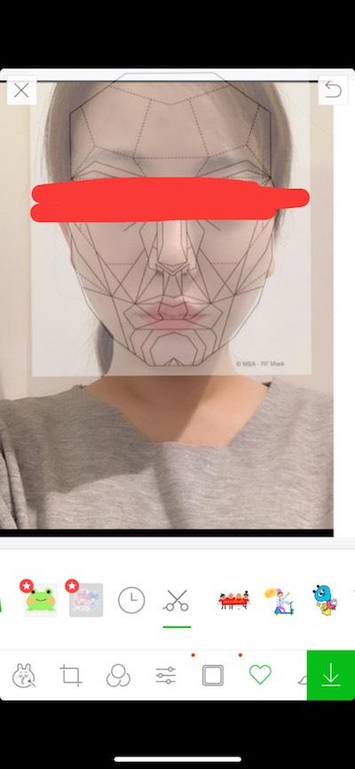 顔の黄金比