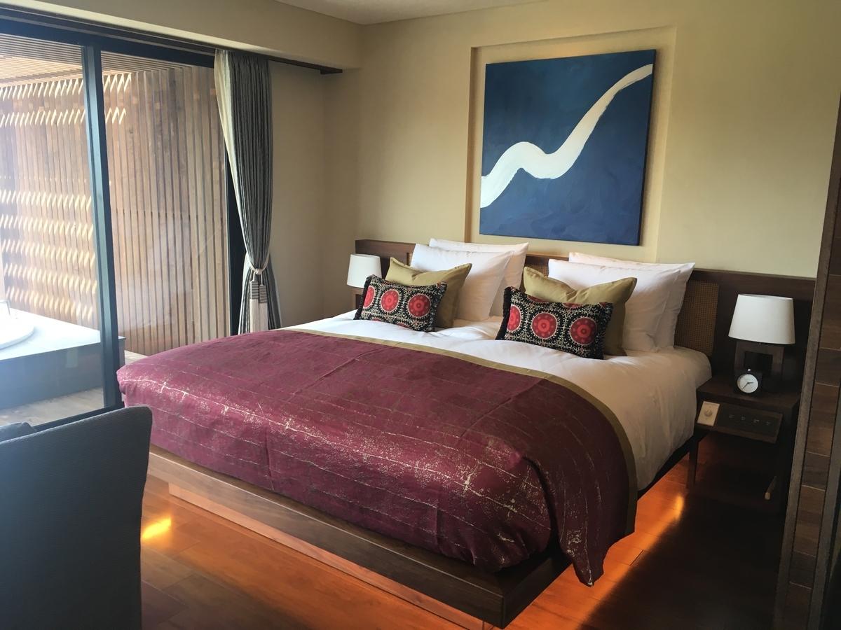 【宿泊記】 《ザ・ひらまつ ホテルズ&リゾーツ 宜野座》 お部屋(エグゼクティブダブル)