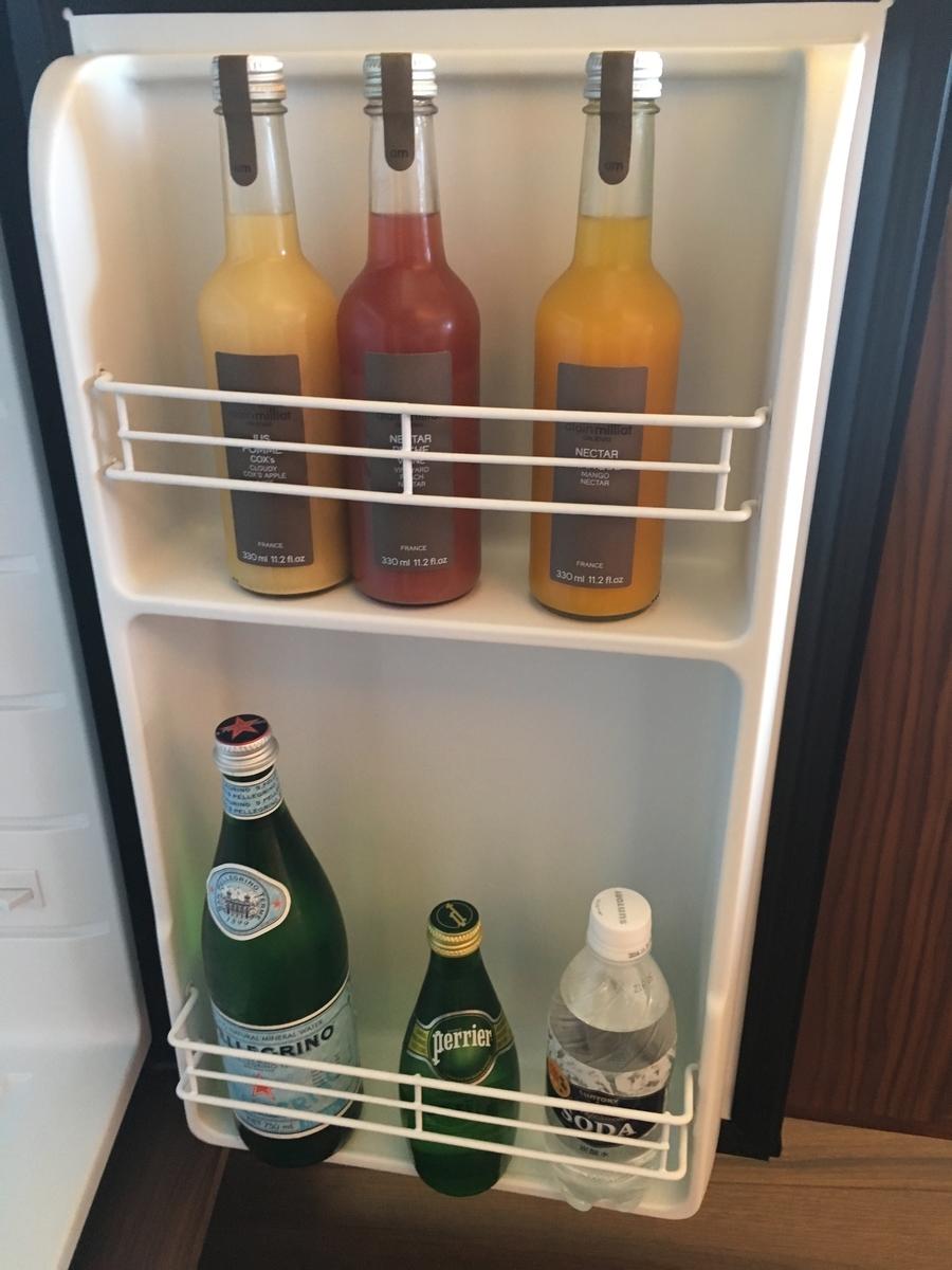 【宿泊記】 《ザ・ひらまつ ホテルズ&リゾーツ 宜野座》 冷蔵庫内のソフトドリンクは全て無料