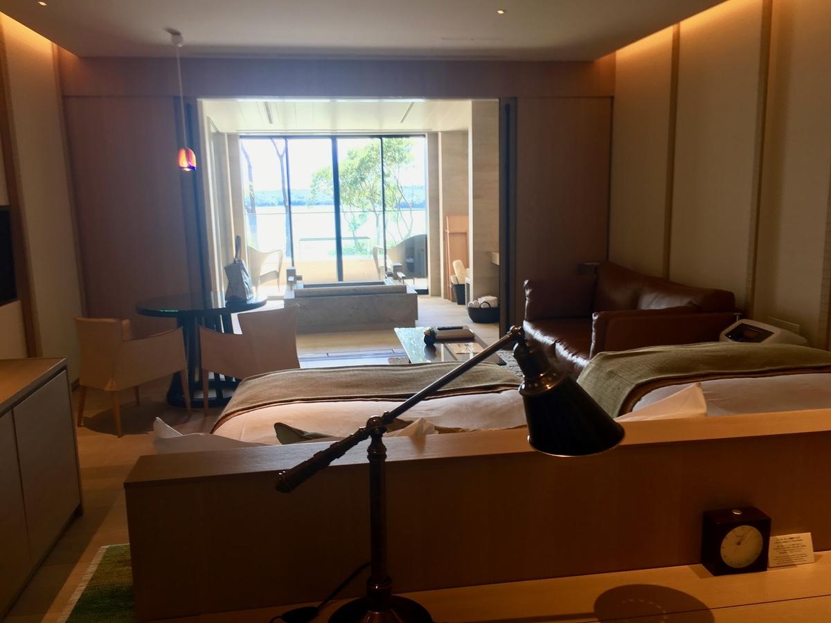 【宿泊記】 《ザ・ひらまつ ホテルズ&リゾーツ 賢島》 お部屋(別棟ツインルーム)