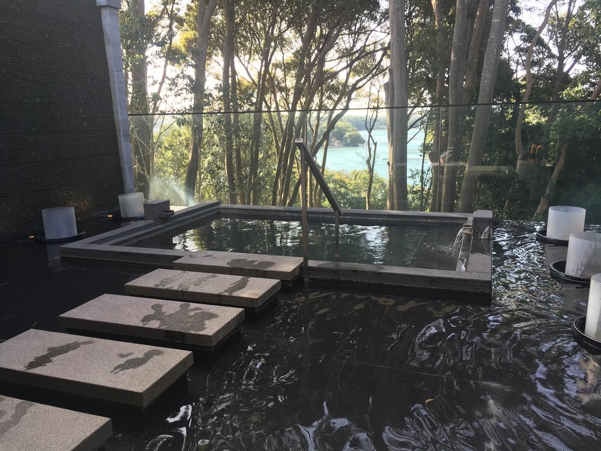 【宿泊記】 《ザ・ひらまつ ホテルズ&リゾーツ 賢島》 貸切露天風呂