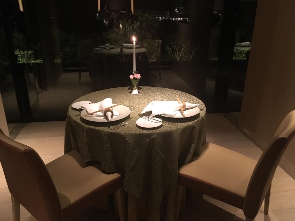 【宿泊記】 《ザ・ひらまつ ホテルズ&リゾーツ 賢島》 夕食 個室ダイニングルーム