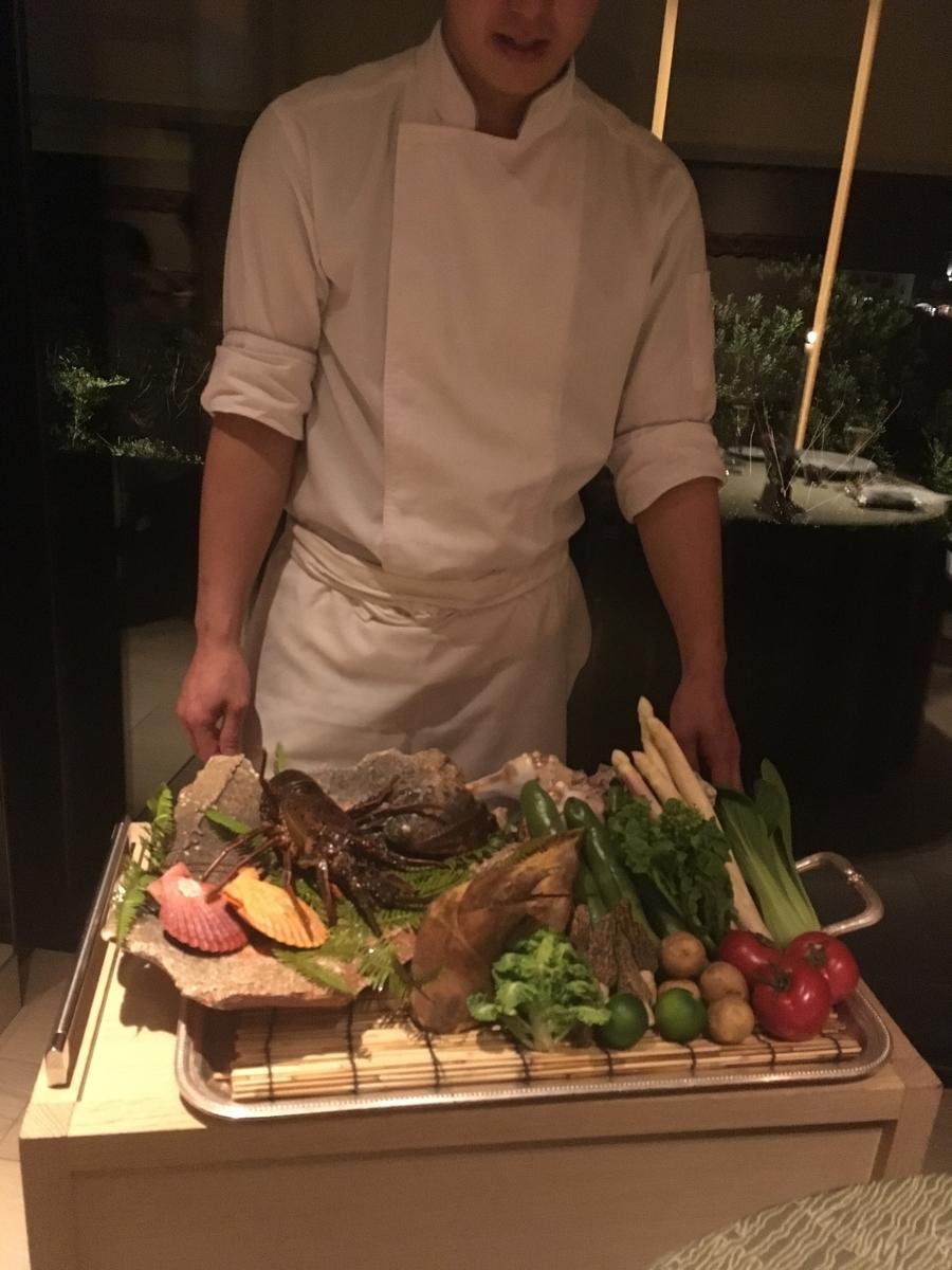 【宿泊記】 《ザ・ひらまつ ホテルズ&リゾーツ 賢島》 夕食の食材