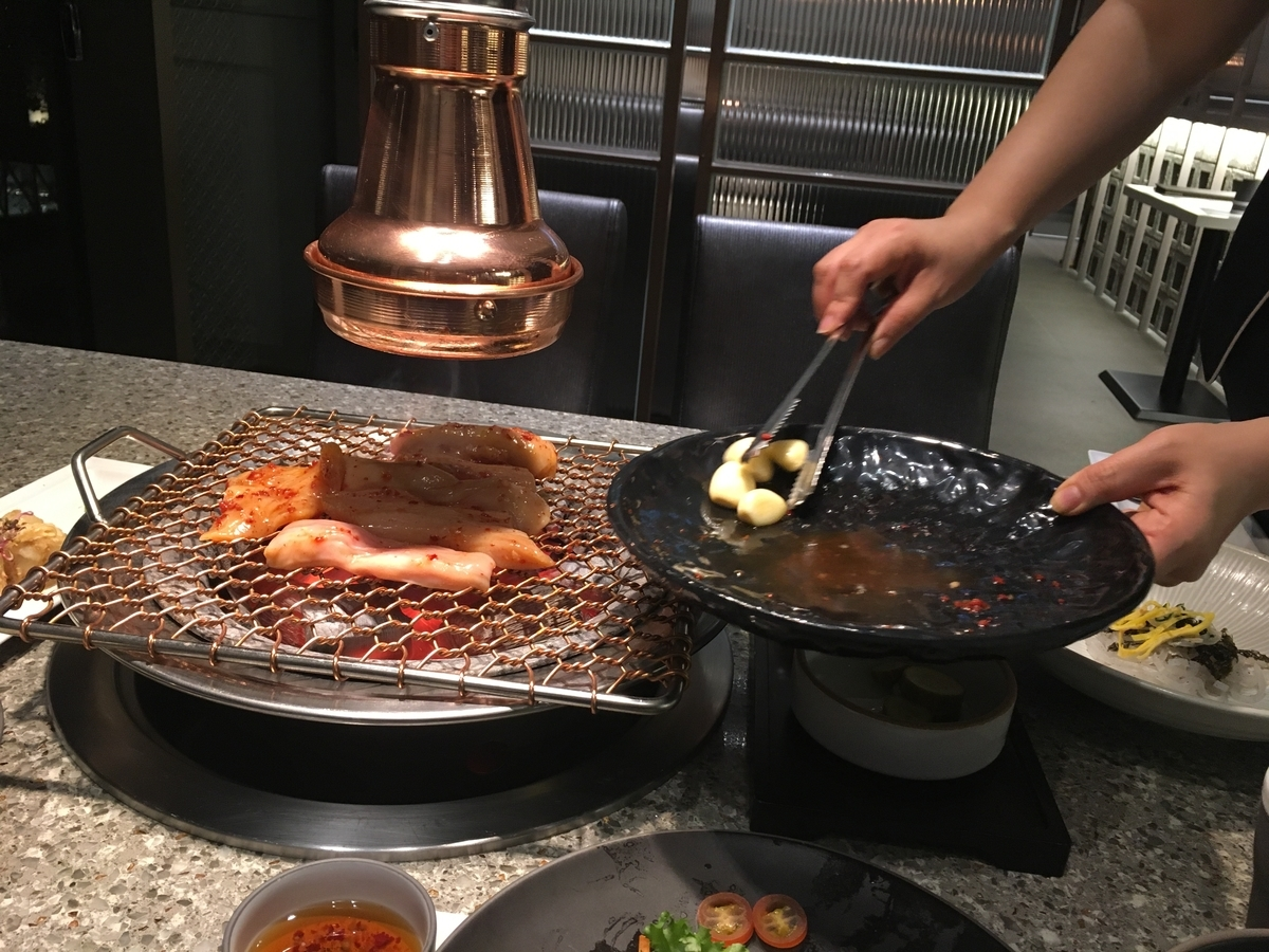韓国 ソウル もつ焼き  大腸 テッチャン
