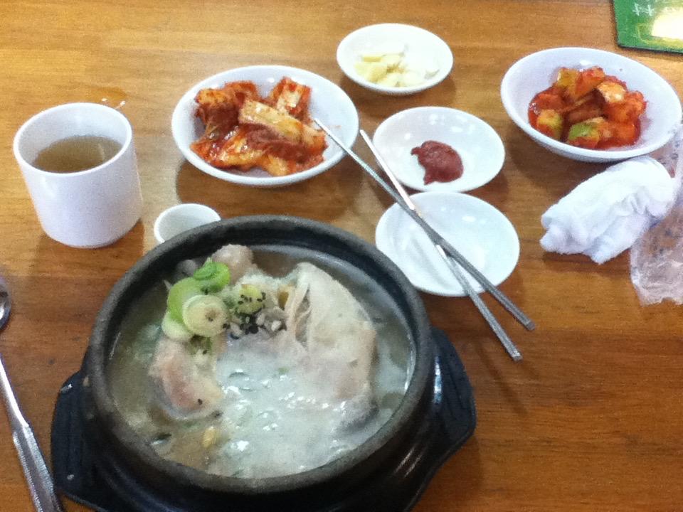 韓国 ソウル サムゲタン 参鶏湯 土俗村