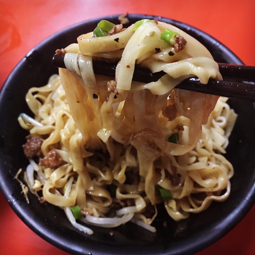 台中第二市場 三代福州意麵老店 福州乾意麵