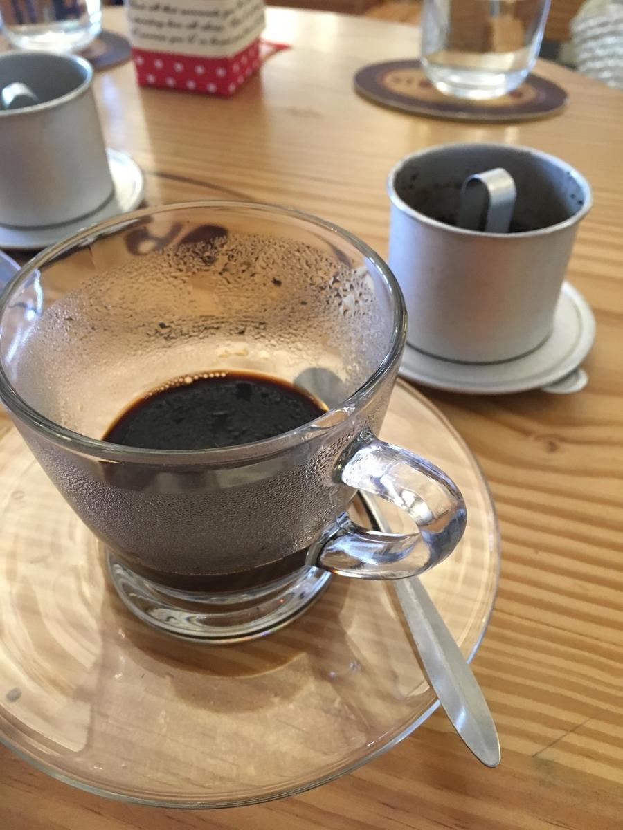 ベトナムコーヒー フエ Stop coffee & Go サイゴンホテル店