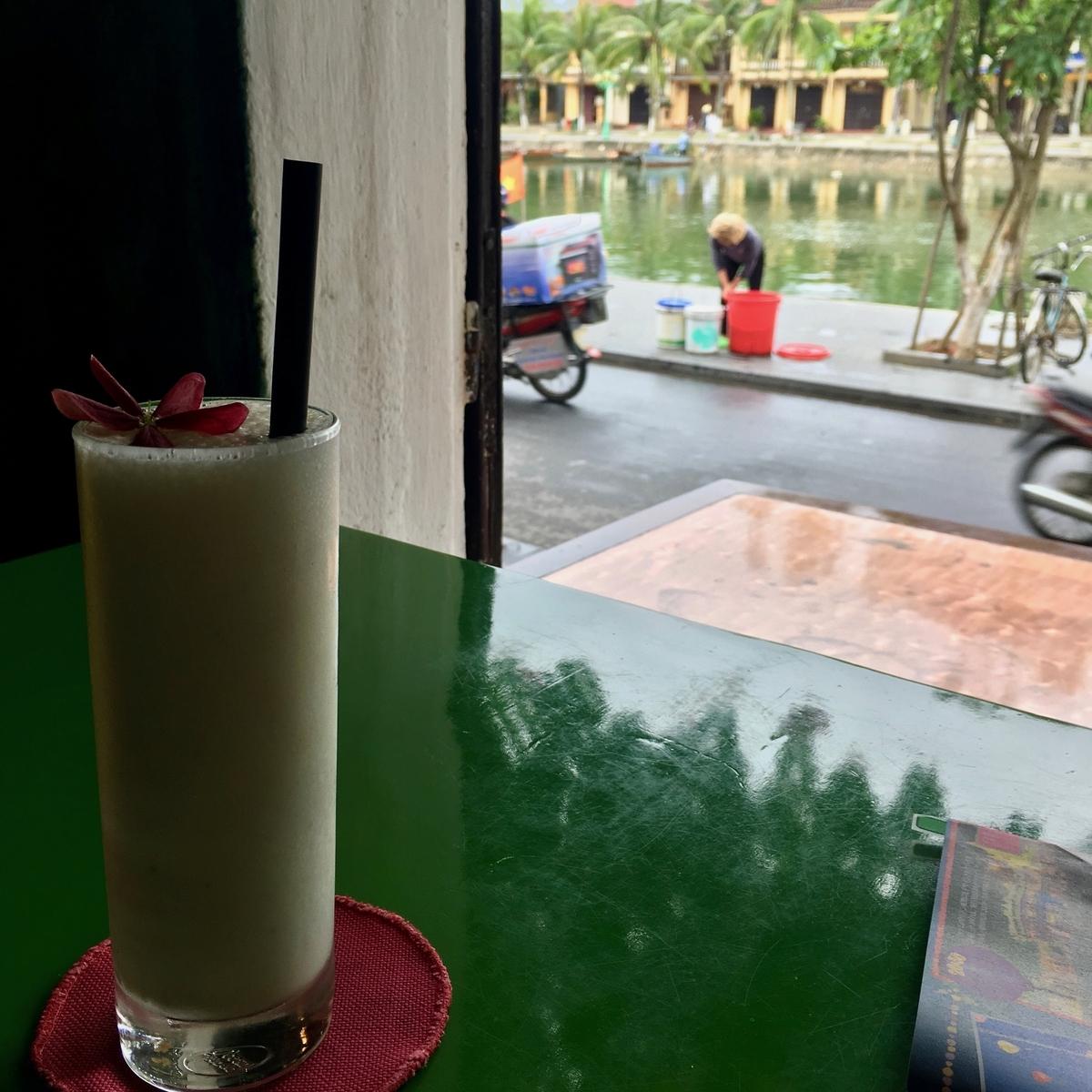 ベトナム ホイアンのカフェ「Mango Rooms」