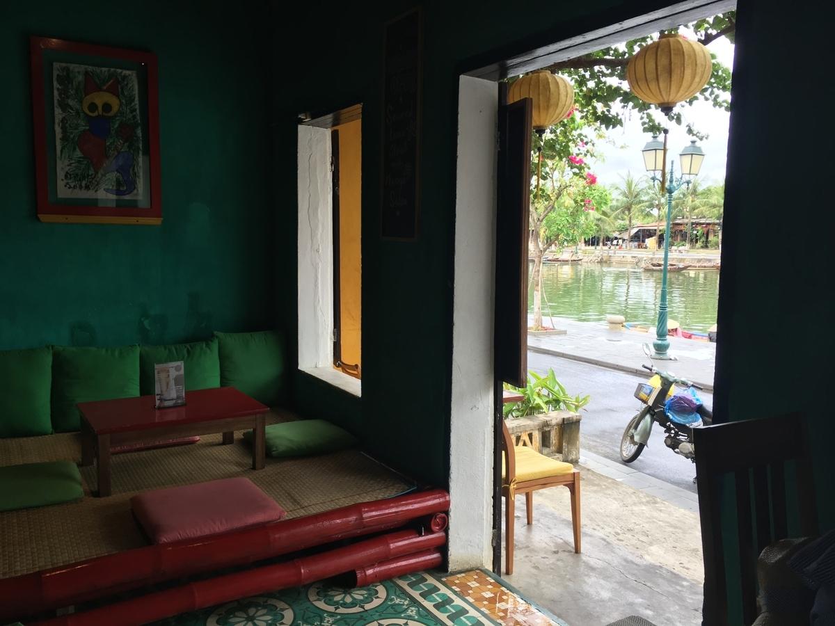 ベトナム ホイアン カフェ Mango Rooms