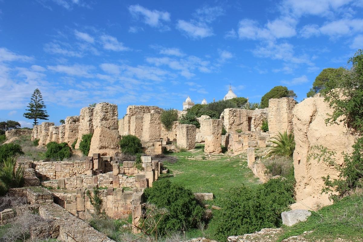 世界遺産検定1級 試験対策 チュニジア カルタゴの考古遺跡