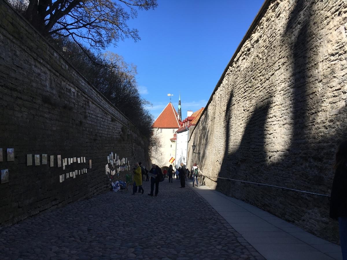 エストニア タリン歴史地区 城壁