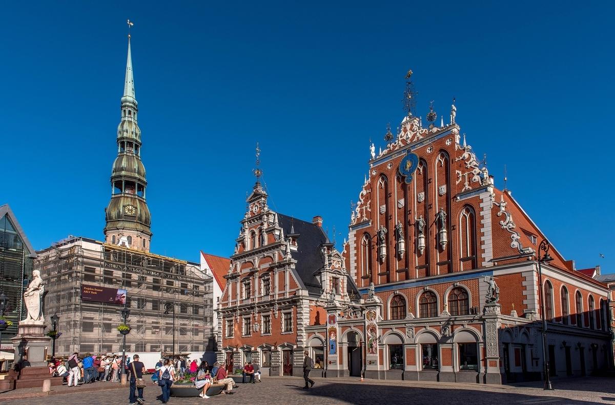 ラトビア リガの歴史地区