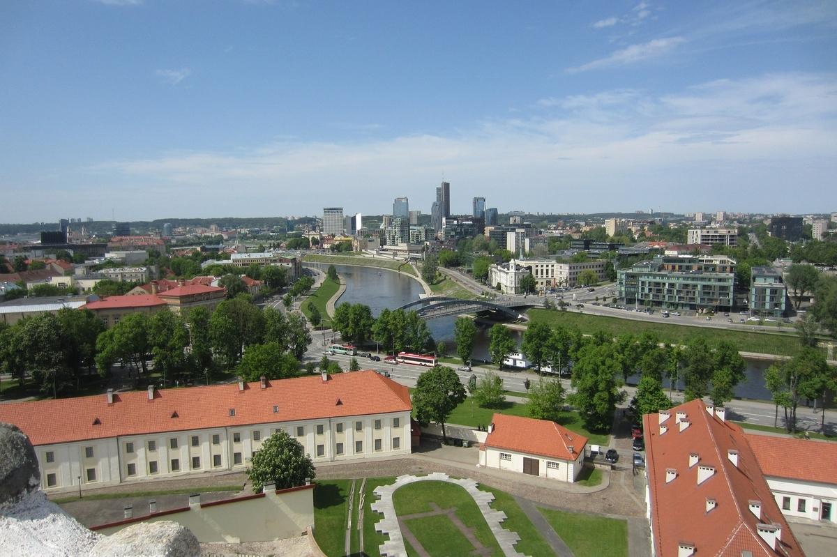 リトアニア ビリニュスの歴史地区