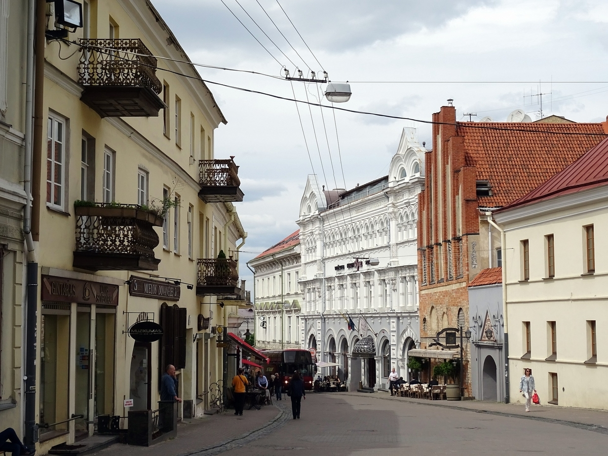 リトアニア ビリニュス歴史地区
