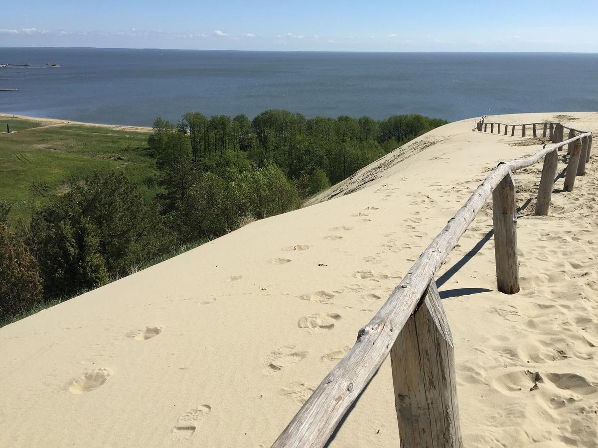 リトアニア クルスキー砂州 ニダ砂丘